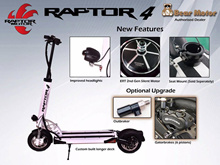 Raptor5 Electric scooter LTA compliant speedway4