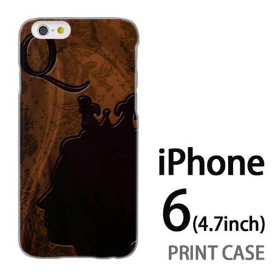 iPhone6 (4.7インチ) 用『No1 Q 女王のレリーフ』特殊印刷ケース【 iphone6 iphone アイフォン アイフォン6 au docomo softbank Apple ケース プリント カバー スマホケース スマホカバー 】の画像