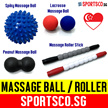 ⏰⚡FREE Shipping⚡ Lacrosse Massage Ball ☘ Spiky Ball ☘ Massage Roller Stick ☘ Peanut Massage Ball ☘ Spiky Roller Stick ☘  Relieve Pain and Loosen Tight Muscle ☘ Singapore Seller ☘ Fast Shipment ☘