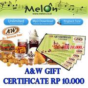 [Group Buy] AW Gift Certificate RP 10.000_khusus pelanggan Melon