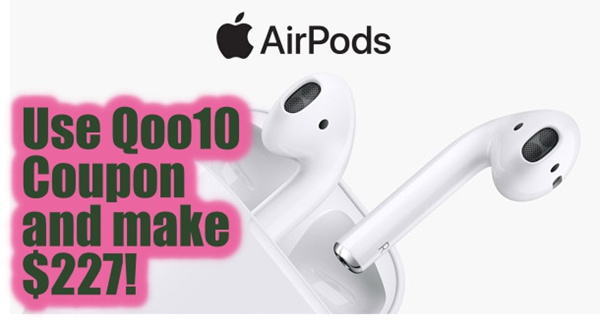 [MAKE $227!] Apple AirPods Wireless headset Deals for only S$1000 instead of S$0