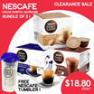 [NESCAFÉ] Dolce Gusto® PICCOLO Capsules ONLY! | No mess no fuss. Just great coffee!(CLEARANCE SALE!)