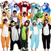 Cute Animal Cartoon Home Wear◆ Unisex Autumn and Winter Pajama Sets◆ 2016 Cute Cartoon Sleepwear Women Pajama Flannel Animal Pajama Stitch Panda Unicorn Onesies
