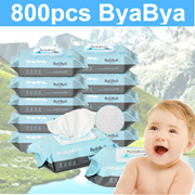 [RESTOCKED!!]800PCS Thick and Safe for Baby★Made in Korea★PREMIUM WET WIPES Bya Bya★Excellen
