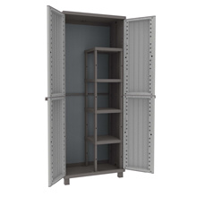 TERRY TR2716 JWOOD 368 2Door 4Shelves Grey