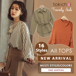 TOKICHOI - New Arrival! Trendy Blouses Shirts Tops Multi Colors Multi Styles - Free Shipping