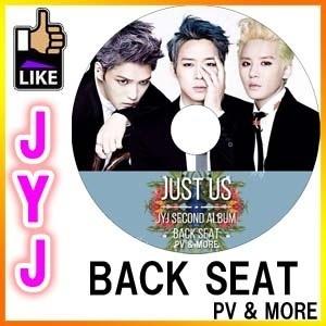 JYJ BACK SEAT PV & MORE 韓流dvd / ジェジュン ジュンス ユチョン◆K-POP DVD◆の画像