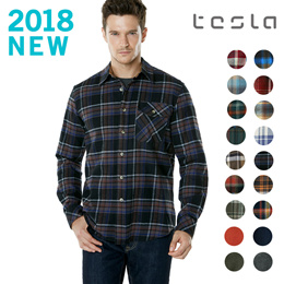 ★CQR FLANNEL SHIRTS ★ Mens shirts / plaid pattern / 100% Cotton / Work Shirt