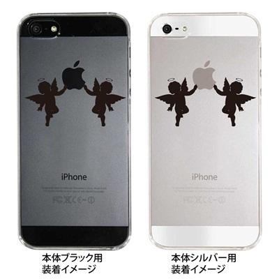 【iPhone5S】【iPhone5】【iPhone5】【ケース】【カバー】【スマホケース】【クリアケース】【天使】 ip5-08-ca0021の画像