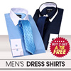 ★BUY 2 GET A Tie FREE★ High Quality Trendy Mens Dress Shirts! Euro Dandy Vintage Style long-sleeved.