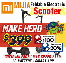【Xiaomi Scooter】 Mijia M365 Electric Scooter  Electric Scooter 30km Long life APP smart