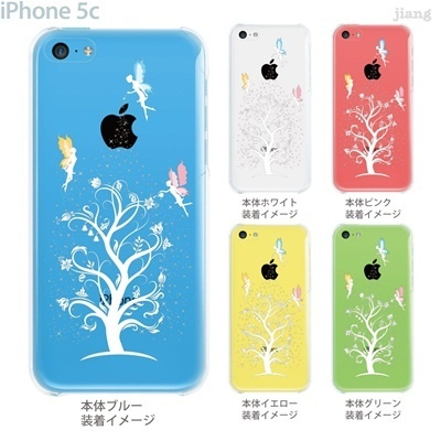 【iPhone5c】【iPhone5cケース】【iPhone5cカバー】【iPhone ケース】【クリア カバー】【スマホケース】【クリアケース】【イラスト】【クリアーアーツ】【妖精】【フェアリー】 01-ip5c-zec037の画像