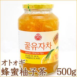 オトォギ 蜂蜜柚子茶 500g ゆず茶 甘酸っぱい【オトギ三和蜂蜜ゆず茶】はちみつ【韓国食品】【韓国茶】の画像
