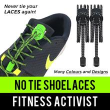 ⏰💪★★No Tie Elastic Shoelaces★★Quality Lock Sport Shoe Laces★★Premium Malaysian Latex★★SG Seller★★