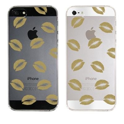 【iPhone5S】【iPhone5】【Clear Fashion】【iPhone5ケース】【カバー】【スマホケース】【クリアケース】【クリアーアーツ】【唇】 ip5-22-ca0013cの画像