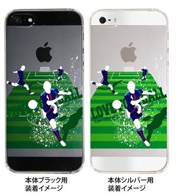 【ジャパン】【iPhone5S】【iPhone5】【サッカー】【iPhone5ケース】【カバー】【スマホケース】【クリアケース】 10-ip5-spo-03の画像