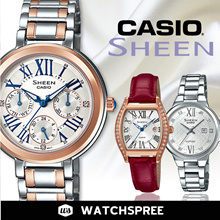 *CASIO GENUINE* CASIO LADIES SHEEN WATCHES! Free Shipping and 1 year warranty!