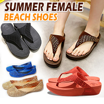 【local shipping】jelly shoes Sandals flat ladies rain shoes Girls Women slippers shoes