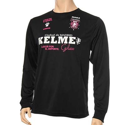 ◆即納◆★在庫限りの大特価!★ケルメ(kelme) 長袖Tシャツ KH173L BLK 【サッカー フットサル ロンT メンズ レディース】の画像