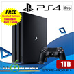 SONY PS4 PRO 1TB 4K Gaming Console - Free Ltd Ed Resident Evil Cable. Increased Power Intense Graphics. 4K Quality Resolution Remarkable Clarity. Local Stocks n Warranty!