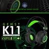【送料無料】GEMST K11 Headset/ゲームヘッドセット/振動ヘッドセット/高級ヘッドセット/ USB方式/仮想7.1ch