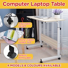 Movable Computer Laptop Table/Minimalist  Stylist Height Adjustable Computer Laptop Table with Table