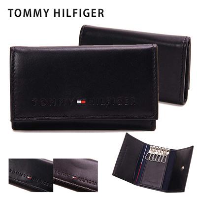 トミーヒルフィガー TOMMY HILFIGER メンズ キーケース 4858の画像