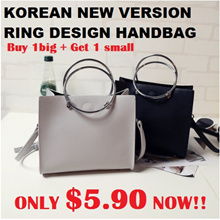 KOREAN NEW VERSION RING HANDBAG ONLY $5.90 SALES NOW!!
