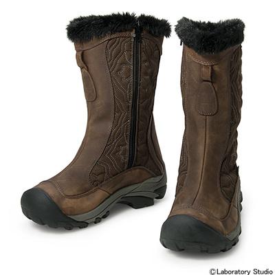 キーン (KEEN) WOMEN Betty Boot II(ウィーメン ベティー ブーツ ツー)Cascade Brown×Gargoyle 1013233 [分類:アウトドア ブーツ・長靴 (レディース)] 送料無料の画像