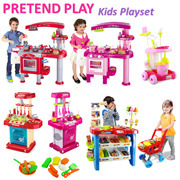 [Toys playset] Pretend play/Role playing/Kitchen sets/Gift set/Presents for children/Educational Toy