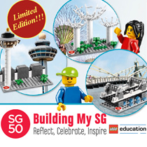 [Limited Edition] LEGO SG50 Building My SG Set - Reflect Celebrate Inspire