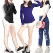 **BASIC women tees-DC brandedlongsleeve/shortsleeve tees premium qualitypakaian wanita-baju branded**