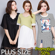 【19 July Update】600+ Style Crazy  Sale!S-7XL 2017  Plus Size Dresses Top Pant Blouse Skirt