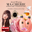 [500ml] Award Winning Ma Cherie Moisture/Air Feel Shampoo and Conditioner 500ml. Create Lustrous Silky Instantly Soft/ Sweet Romantic Scent Champagne Honey