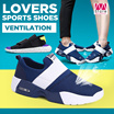 ※Free Shipping※ UNISEX!!/ Lovers sports shoes/ Casual shoes/ soft sole/ Cowhide/ natural materials/ skidproof/ Wearable/ environmental protection/ healthy/ 9 types【M18】