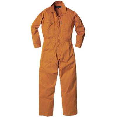 イーブンリバー(EVENRIVER)プレミアムバイオカバーオール9600ポリッシュオレンジメンズレディースワークウエアワーキングウエア作業着カジュアル