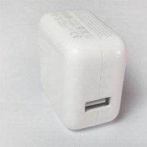 【メール便送料無料】iPad 充電器/10W USB power Adapter 【iPad、iPhoneにも対応】10P12Sep14の画像