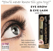 Natural Essential Oil Eye Lash n Eyebrow Care * 20ml SUPER VALUE FOR MONEY *
