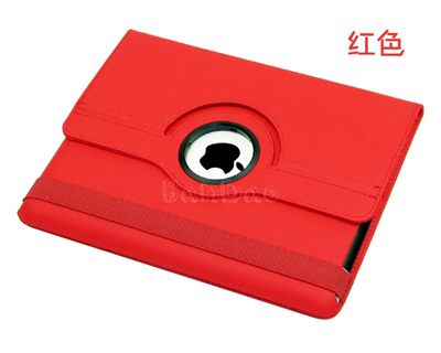 iPad2用360度回転式ケースsmartcoverleathercaseforipad2