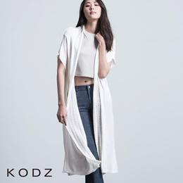 KODZ - Long Tunic Cardigan-6005025