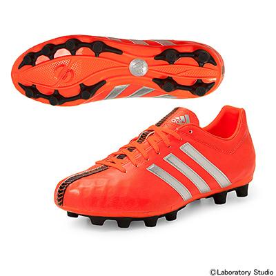 アディダス (adidas) パティーク11nv-ジャパン HG(ソーラーレッド×シルバーメット×コアブラック) B24581 [分類:サッカー 固定式スパイク] 送料無料の画像