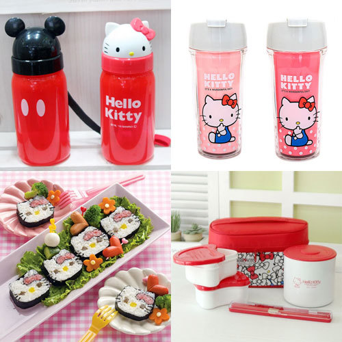 Household Goods Hello Kitty Rirakkuma Bottle