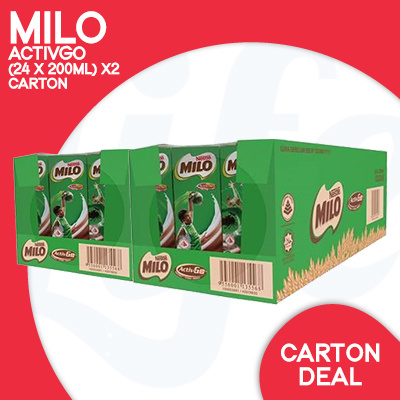 [NESTLE]?RESTOCKED!?MILO ACTIV-GO 48 PACKETS Deals for only S$39.9 instead of S$0