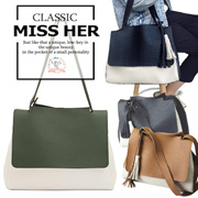 【FREE QXPRESS】【Premium Quality】★ Korean Lady Bag  Buckle Bag Tote Bag Shoulder Bag Hot Selling