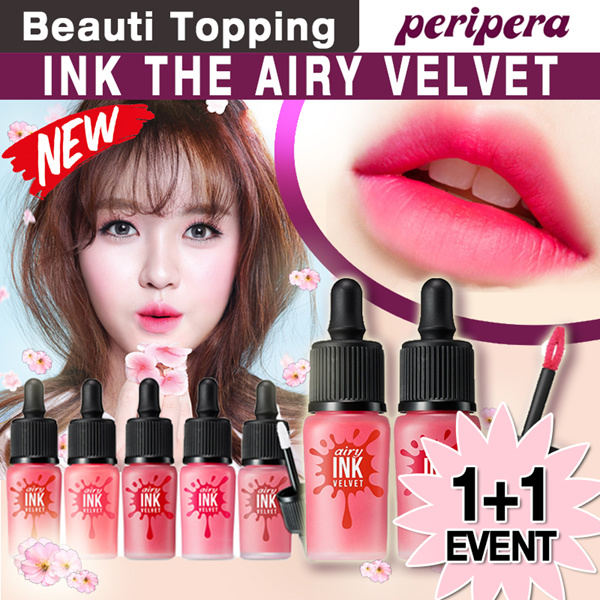 ?1-day LAST LIMITED 100P SUPER SALE?1+1?2017 NEW?[PERIPERA] Ink Airy Velvet / Ink the Velvet Deals for only S$23 instead of S$0