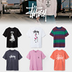 [[[STUSSY]]] AMERICAN STREET BRAND♥ SHORT SLEEVE T-SHIRT♥FREE SHIPPING FROM USA