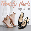 ★Stable Heels to Match Your Work Dress ★ Match Anything!!! Stable High Heels