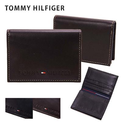 トミーヒルフィガー TOMMY HILFIGER メンズ カードケース(名刺入れ) 4860の画像