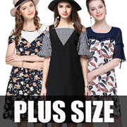 【11/7 New Arrivals】600+ style 2017 S-7XL NEW PLUS SIZE FASHION LADY DRESS OL work dress blouse