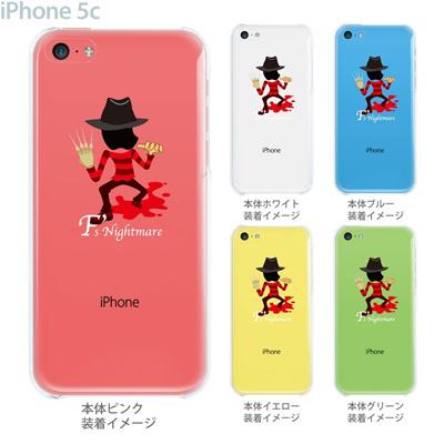【iPhone5c】【iPhone5c ケース】【iPhone5c カバー】【ケース】【カバー】【スマホケース】【クリアケース】【クリアーアーツ】【MOVIE PARODY】【Fs Nightmare】 10-ip5c-ca0053の画像